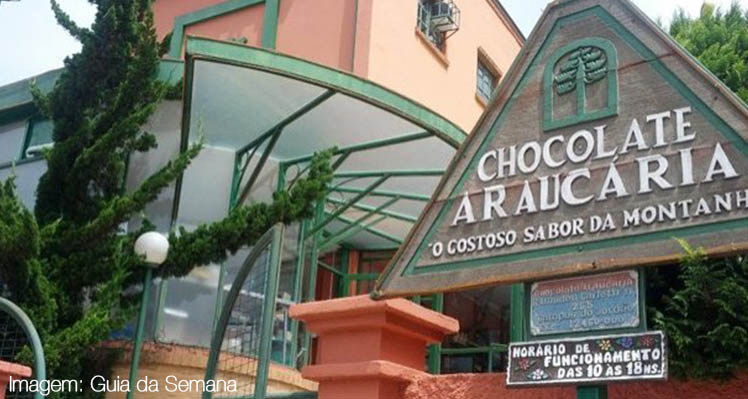 Fábrica do Chocolate Araucária