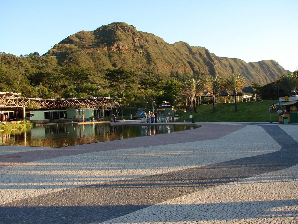 Serra do Curral vista do Parque das Mangabeiras