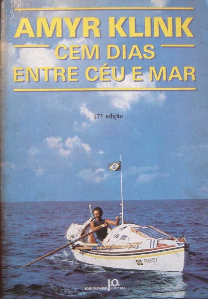 """Capa de """"Cem dias entre céu e mar"""""""