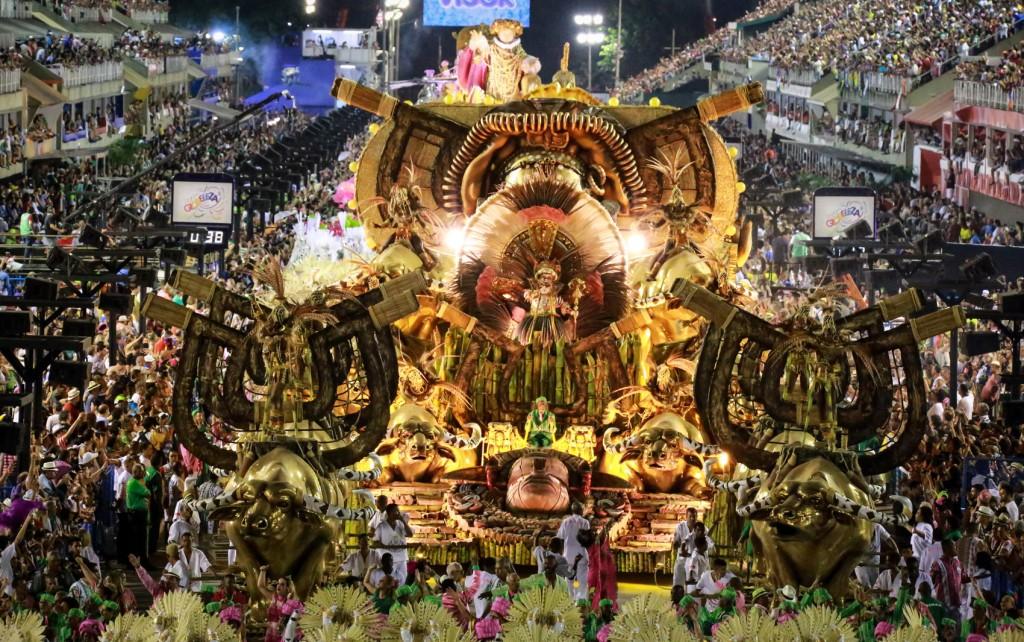 Desfile das escolas de samba do Rio de Janeiro