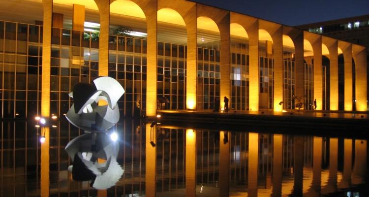 Palácio Itamaraty em Brasília