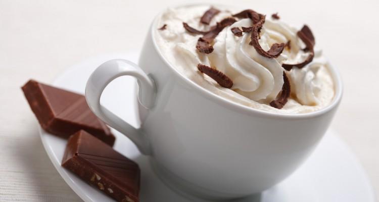 Chocolate Quente No final de semana