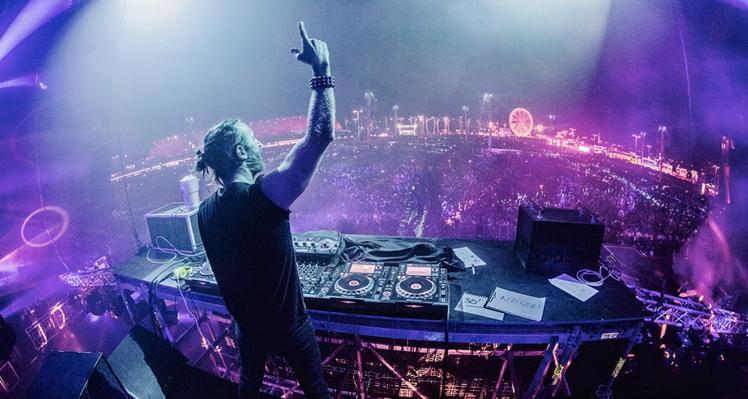 David Guetta no Brasil em 2015