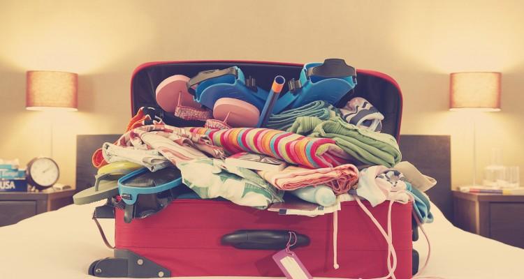Repita conosco: não é chato fazer as malas!