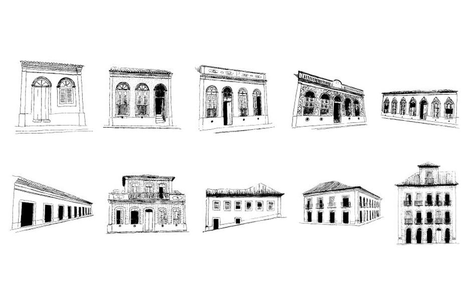 Estilos de arquitetura em São Luís - Foto: passeiourbano.com