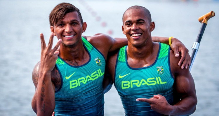 A canoagem brasileira é um dos orgulhos de Lagoa Santa