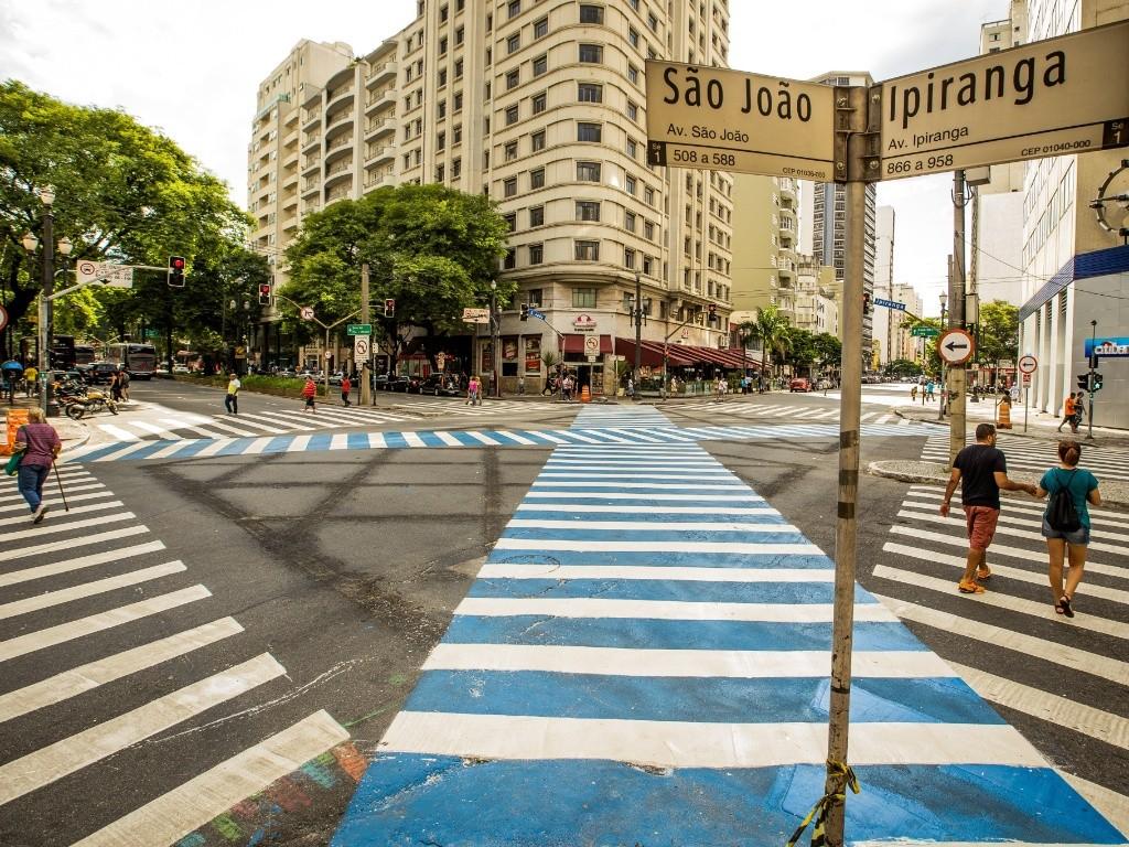 Resultado de imagem para ipiranga com a avenida são joão