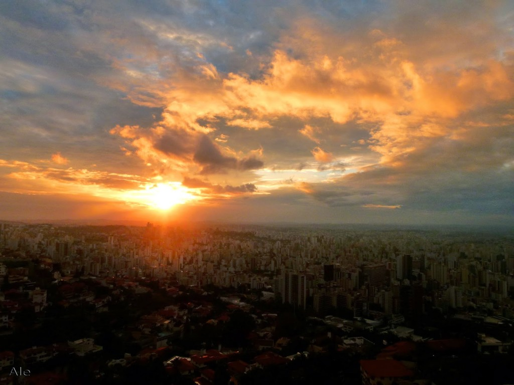 Vista do mirante do Parque das Mangabeiras