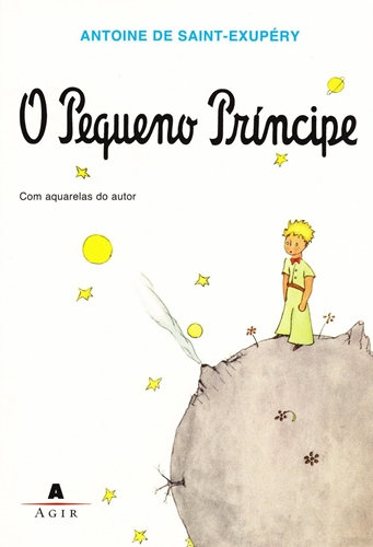 "Capa de ""O Pequeno príncipe"""