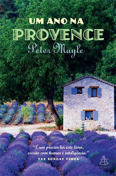 """Capa de """"Um ano na provence"""""""