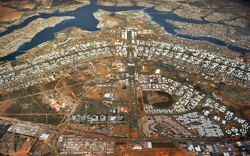 Vista aérea de Brasília