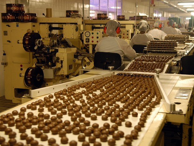Fabricação de bombons