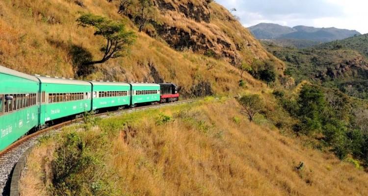 O passeio de trem entre Ouro Preto e Mariana