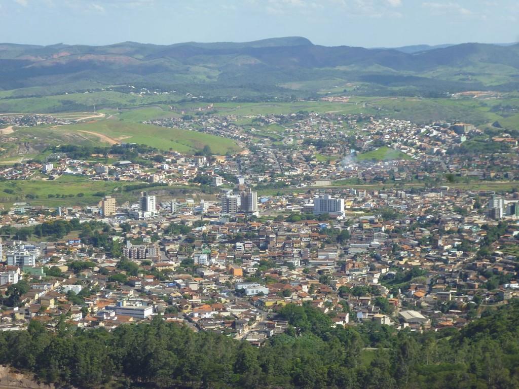 As montanhas de Itabira, em Minas Gerais