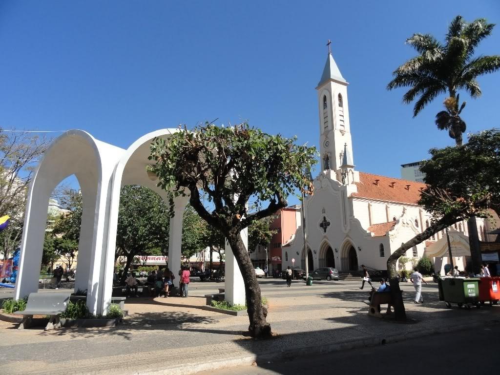 Matriz de Santa Rita em Viçosa-MG